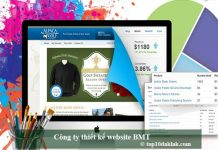 Công ty thiết kế website BMT