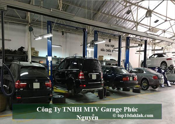 Công Ty TNHH MTV Garage Phúc Nguyễn