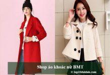 shop áo khoác nữ bmt